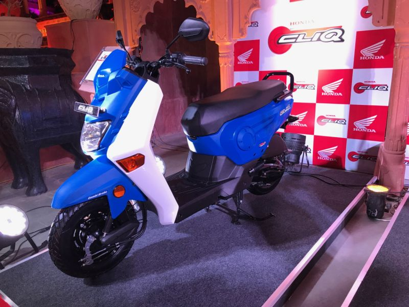 new, bike, india, honda, cliq, scooter, news, latest