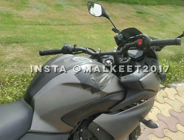 Yamaha India Fazer 250 spied