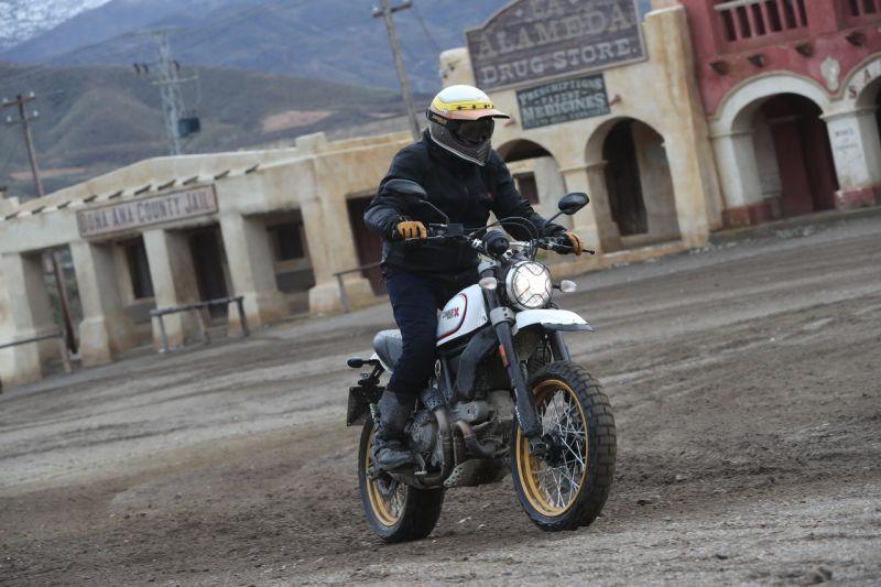 Off-road Ducati Scrambler Desert Sled review