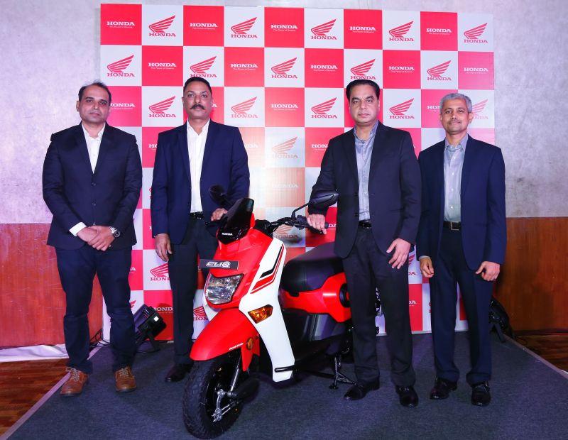 Honda Cliq launched in Pune - Maharashtra