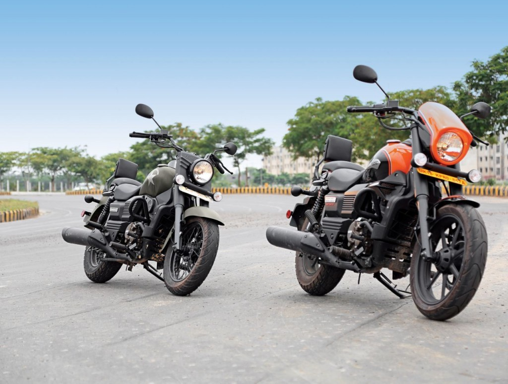 Made in India UM Motorcycle exported to Nepal-M1