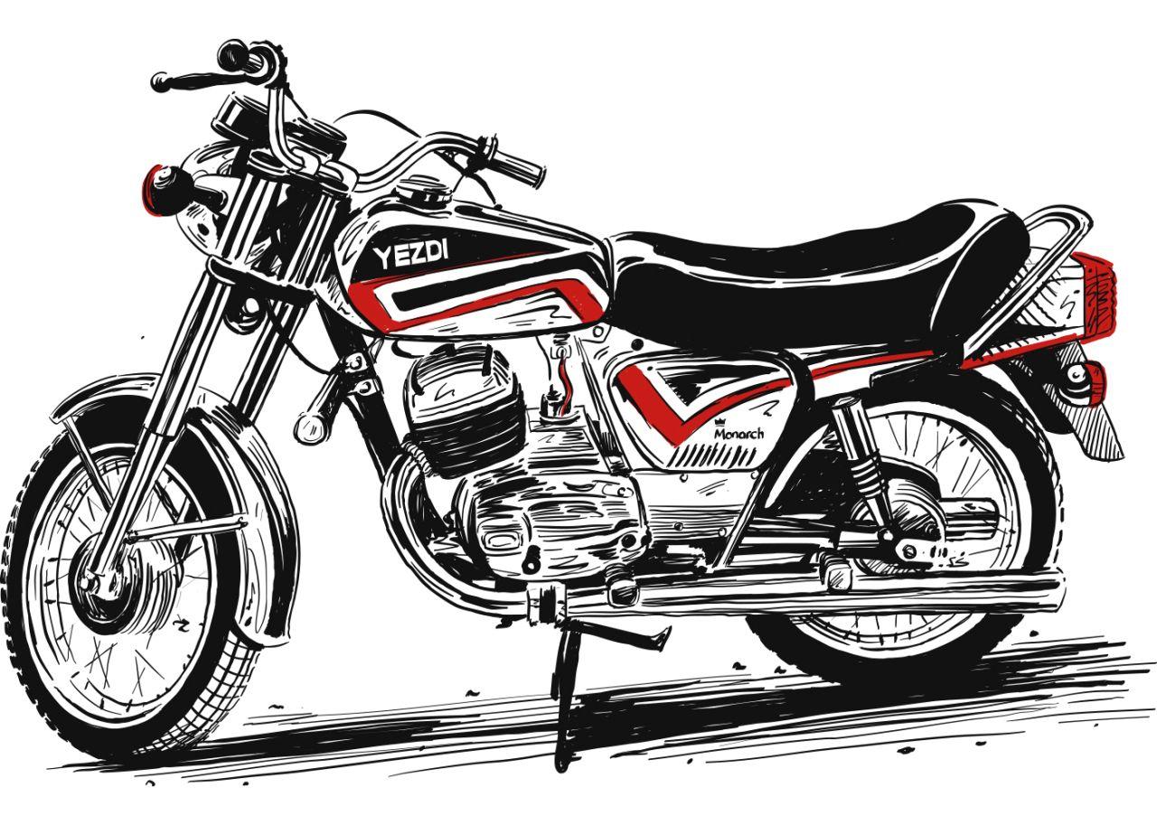 new, bike, india, motorcycle, mahindra, yezdi, website, tweet, latest, news