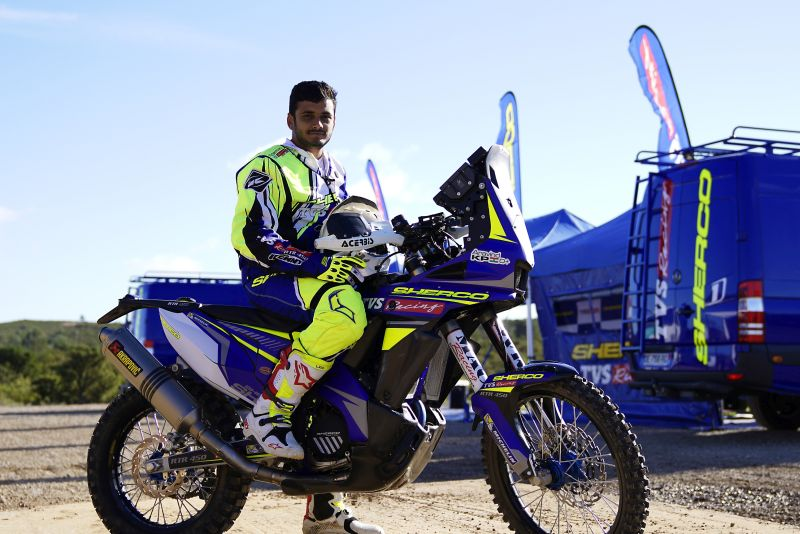 new, bike, india, tvs, sherco, factory, rally, team, aravind kp, abdul wahid tanveer, interview, news, latest