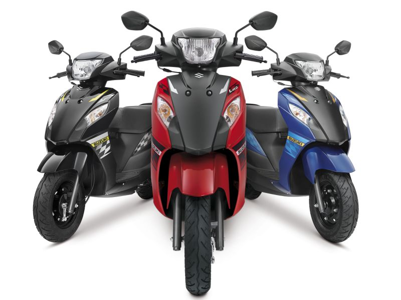Suzuki Lets launched in dual tone