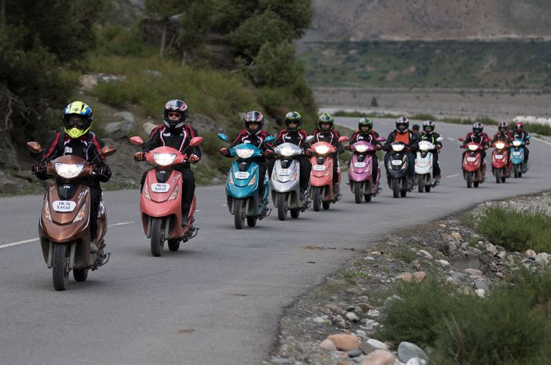 TVS Zest 110 Himalayan Highs WEB 1