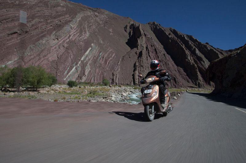 TVS Zest 110 Himalayan Highs WEB 2