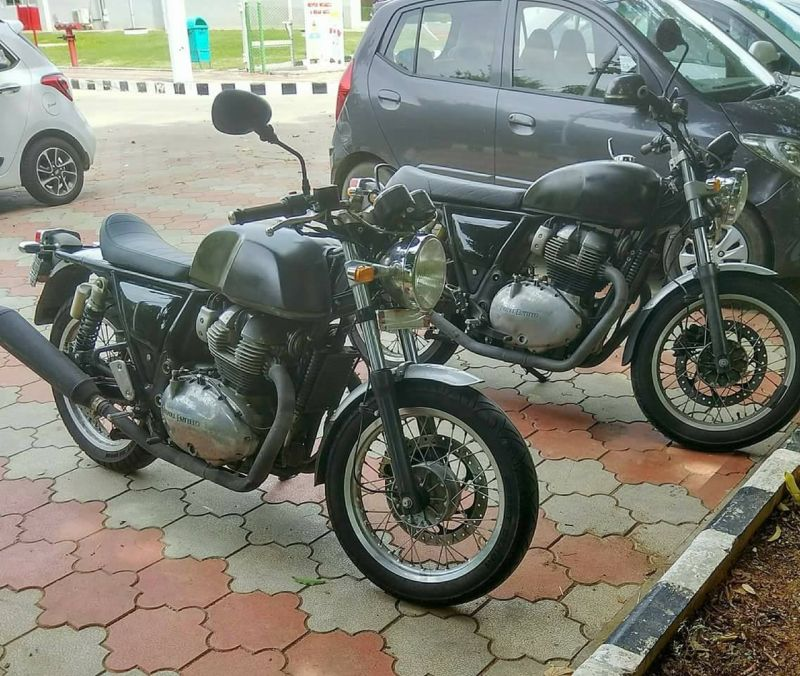 new, bike, india, royal enfield, continental, 750, spied, spotted, testing, news, latest