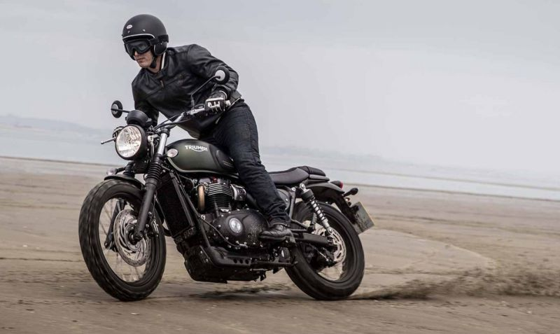 Triumph Street Scrambler launch in India