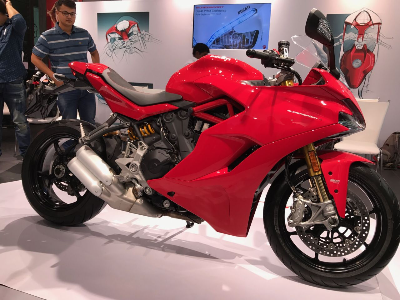 Ducati Launch Supersport And Supersport S In India Bike India