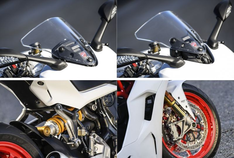 Ducati SuperSport S is the more upmarket option
