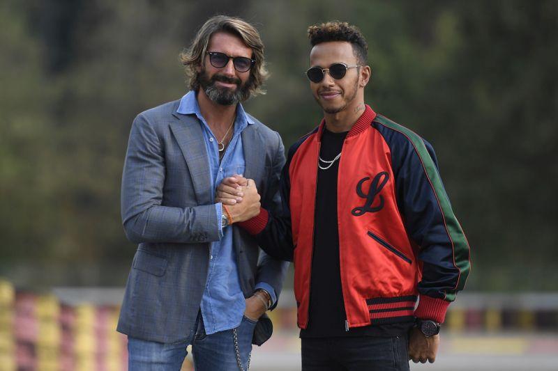 Giovanni Castiglioni MV Agusta & Lewis Hamilton web