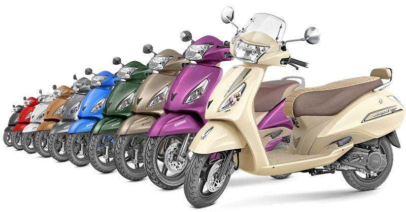 TVS Jupiter scooter sale in India