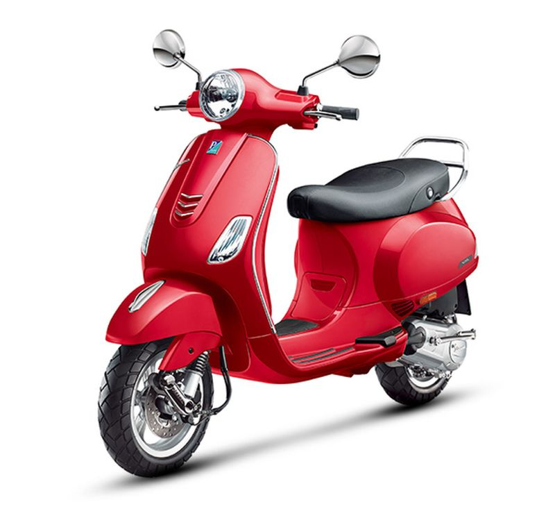 new, bike, india, piaggio, vespa, red, 946, vxl, aids, malaria, global, fund, news, latest