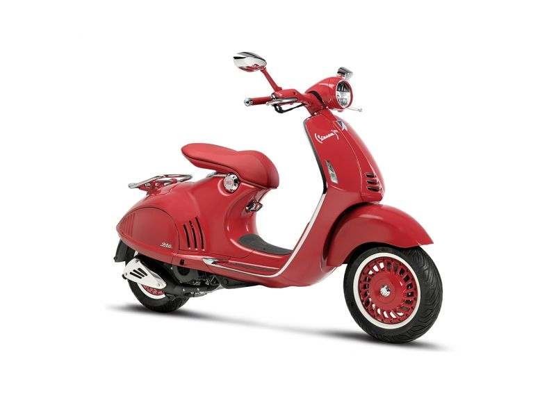 new, bike, india, piaggio, vespa, red, 946, vxl, aids, malaria, global, fund, news, latest