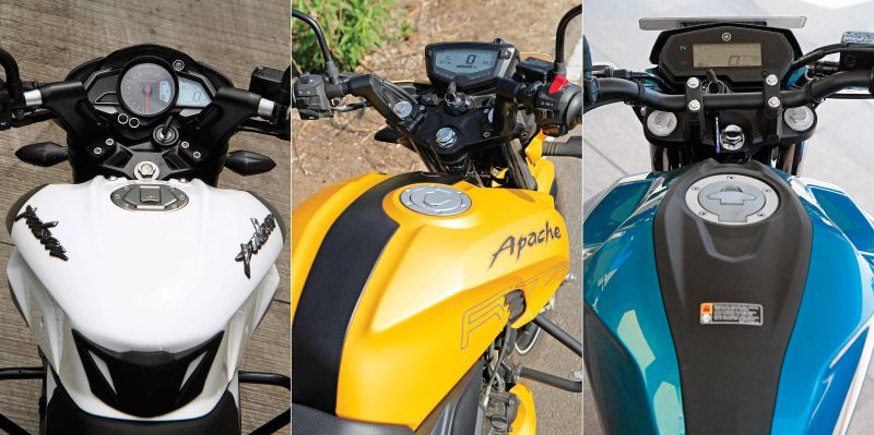 Yamaha-FZ-25-250-Bajaj-Pulsar-200-TVS-RTR-Apache-200-Compare-test-Bike-India-M7
