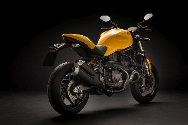 new, bike, india, ducati, monster, 821, unveil, yellow, red, black, news, latest