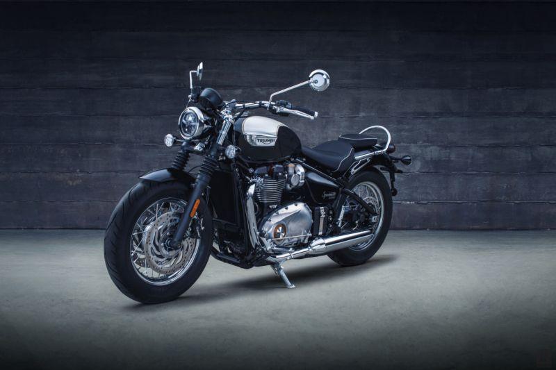 Triumph reveals Bonneville Speedmaster