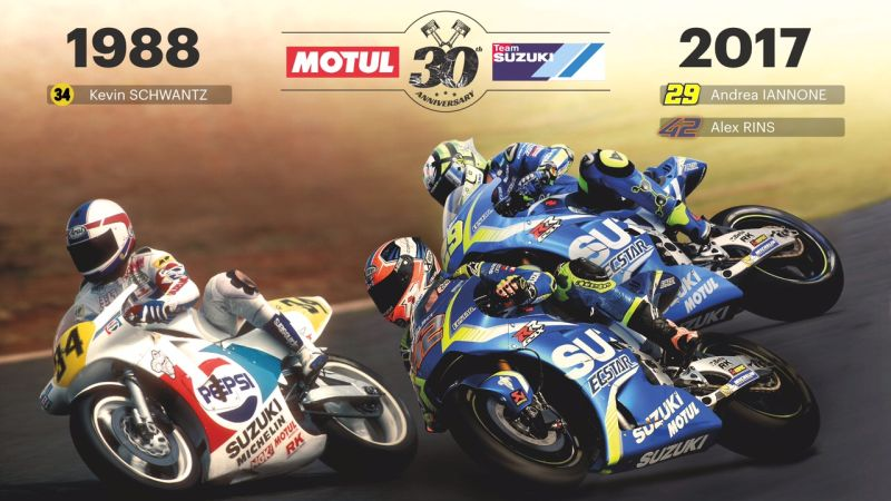 new, bike, india, suzuki, motul, motogp, partnership, 30, years, championship, win, news, latest