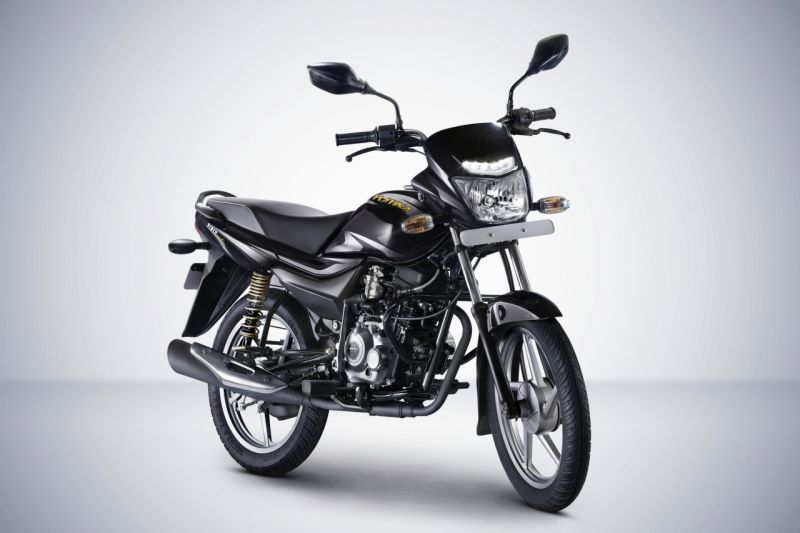 new, bike, india, bajaj, platina, comfortec, commuter, drl, launch, news, latest
