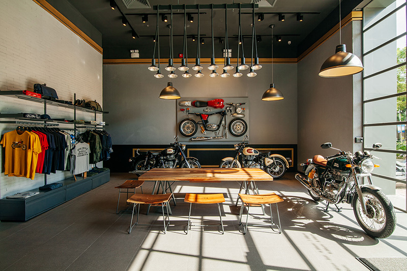 Royal Enfield flagship store in Ho Chi Minh City_WEB_1
