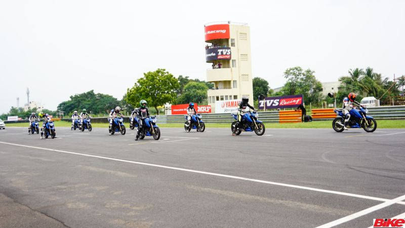 new, bike, india, tvs, young, media, racer, programme, racing, racetrack, round, four, apache rtr 200 4v, chennai, feature, motorsport