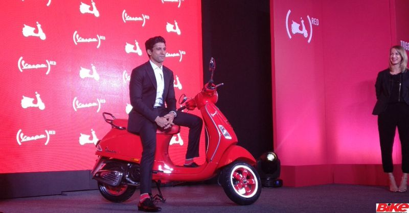 new, bike, india, vespa, red, 125, scooter, launch, aids, news, latest