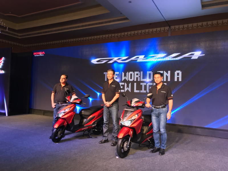 2017 new Honda Grazia launch web 1