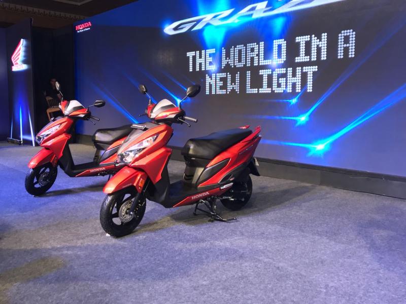 2017 new Honda Grazia launch web 2