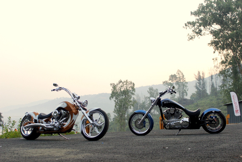 Avantura Choppers Rudra and Pravega launch web