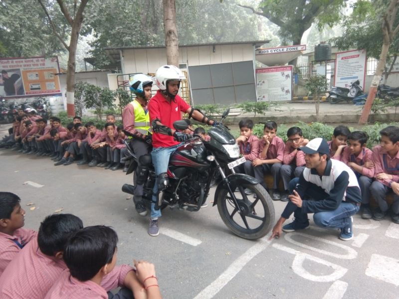 new, bike, india, honda, two wheelers, motorcycles, safety, road, campaign, children's day, news, latest