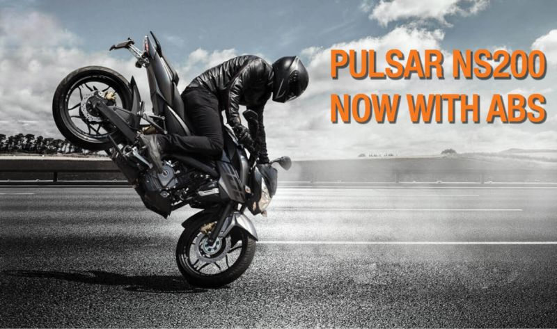 Bajaj Pulsar NS200 Launched With ABS