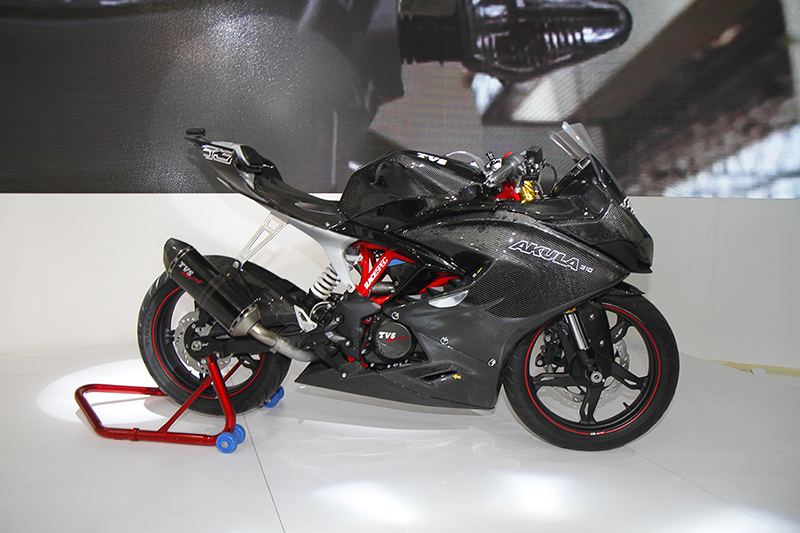 Five things to know about the TVS Apache RR 310 aka Akula
