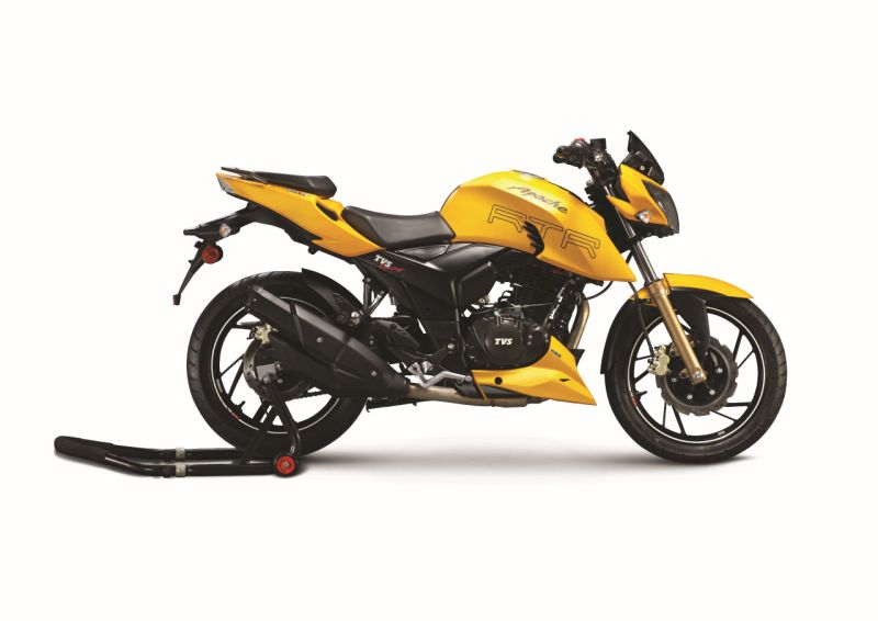 new, bike, india, tvs, apache, rtr, 200, fi4v, launched, fuel injected, news, latest
