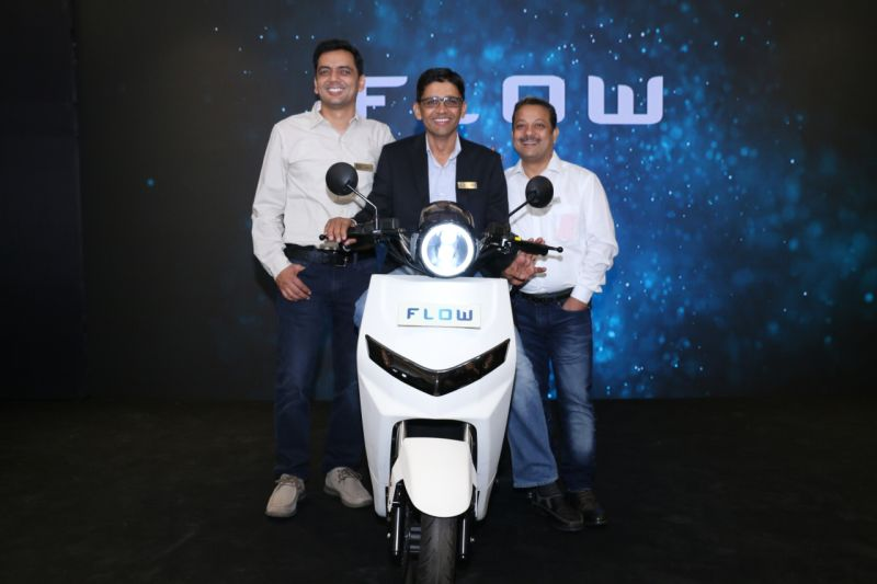 new, bike, india, twenty two motors, flow, prototype, electric, scooter, news, latest