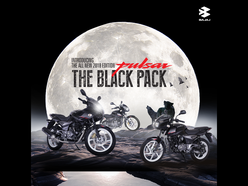 All New 2018 Edition Pulsar - The Black Pack-M1