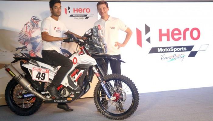 Hero Dakar 2018 CS Santosh - M1