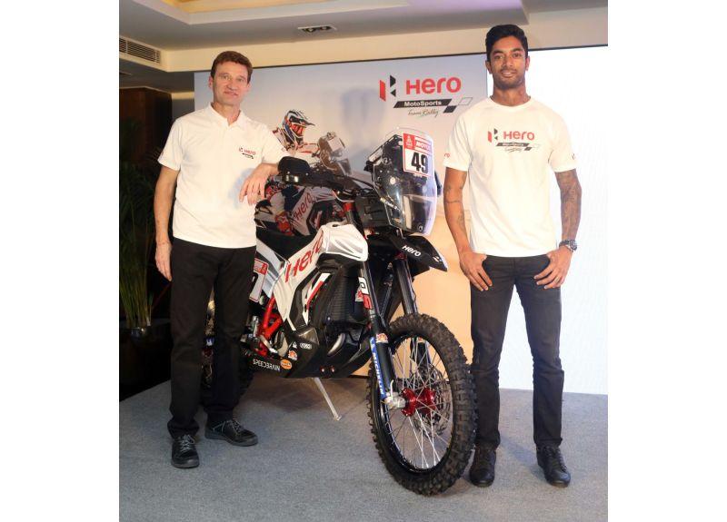 Hero Dakar 2018 CS Santosh - M2