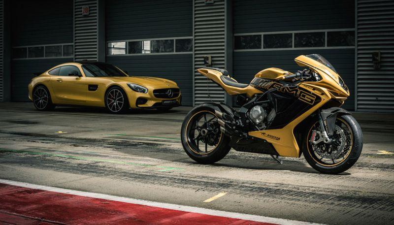 new, bike, india, mv agusta, mercedes-amg, motorcycle, supersport, italy, partnership, stakes, news, latest