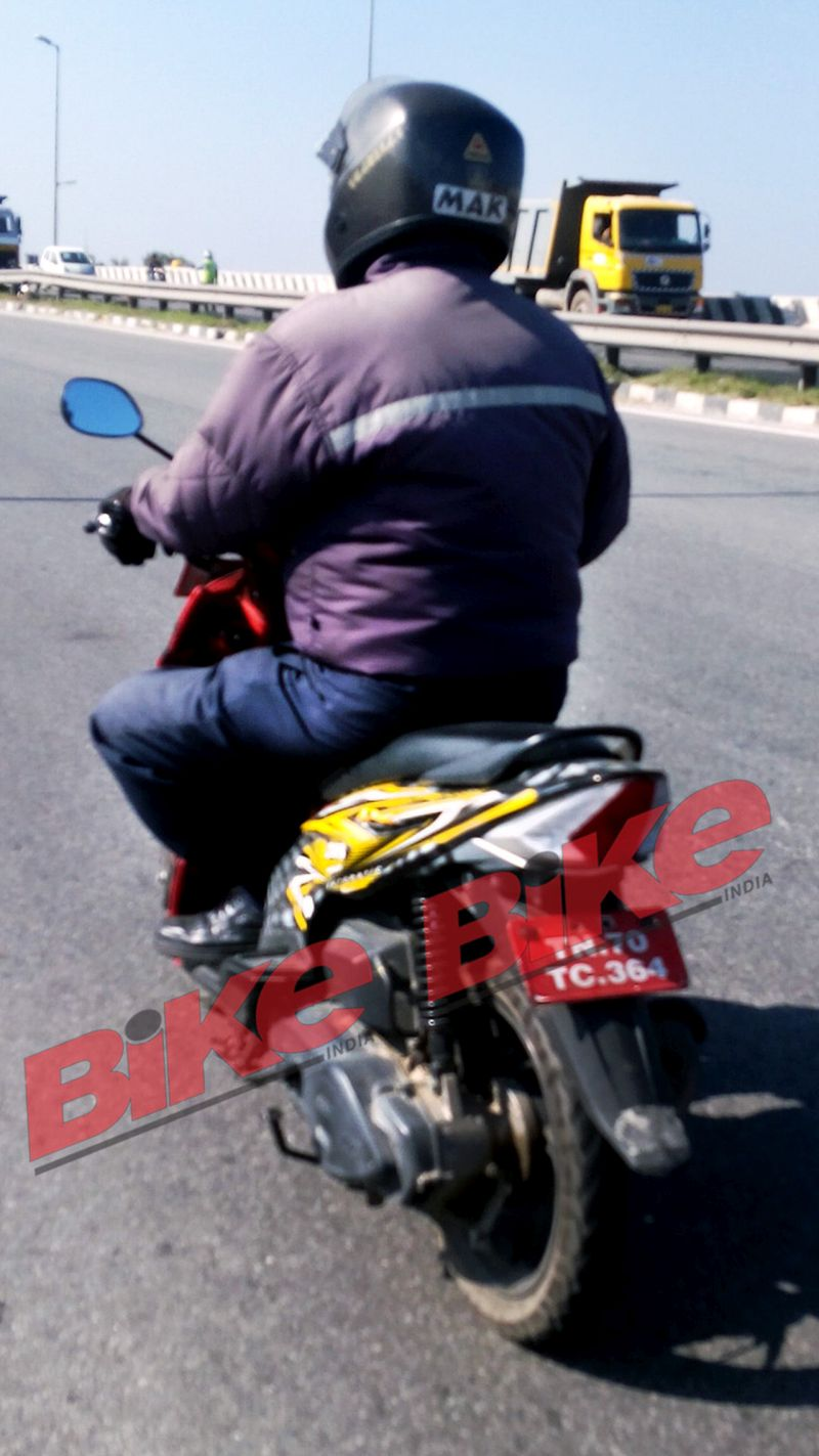 new, bike, india, tvs, dazz, scooter, spotted, spy, shots, pictures, hosur, news, latest, testing