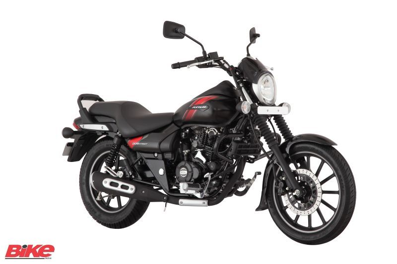 2018 Bajaj avenger Street 220 new Matte Black colour