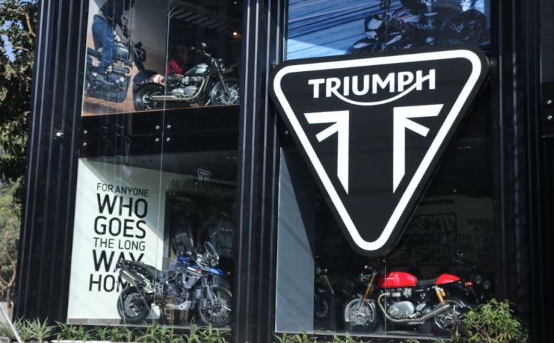 Triumph-Motorcycles-India-Gurgaon Dealership