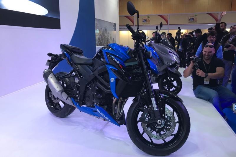 Suzuki Motorcycle GSX-S 750 at Auto Expo 2018 1 web