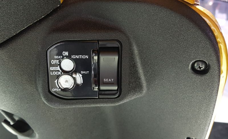The all new Activa 5G ignition