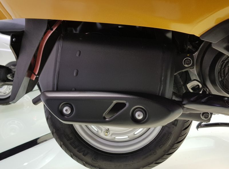 The all new Activa 5G instrument - exhaust