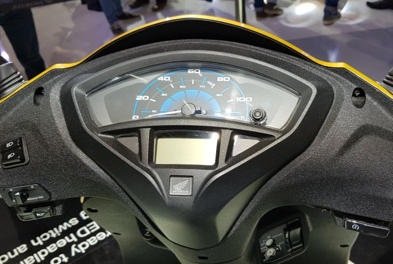 The all new Activa 5G instrument