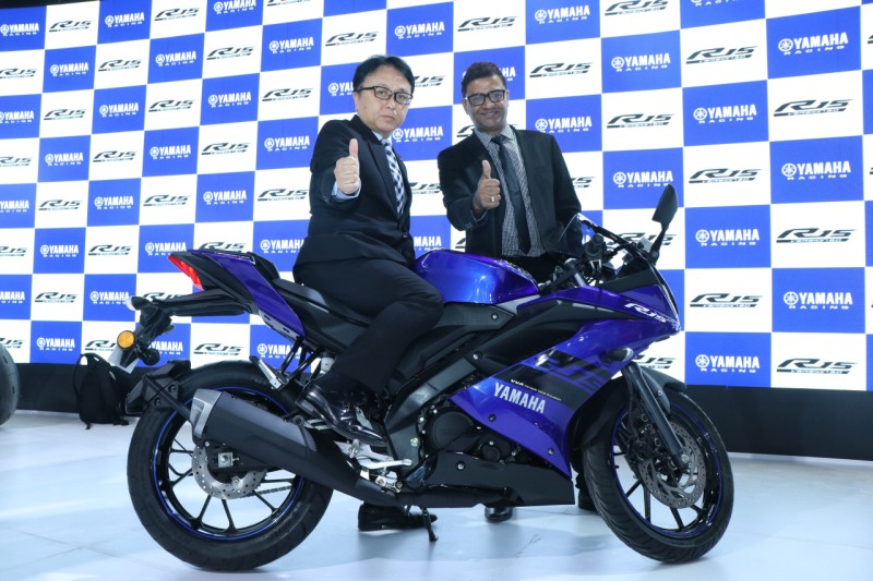 Yamaha YZF-R15 Blue web