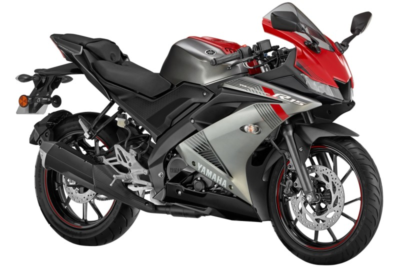Yamaha YZF-R15 Red Silver web