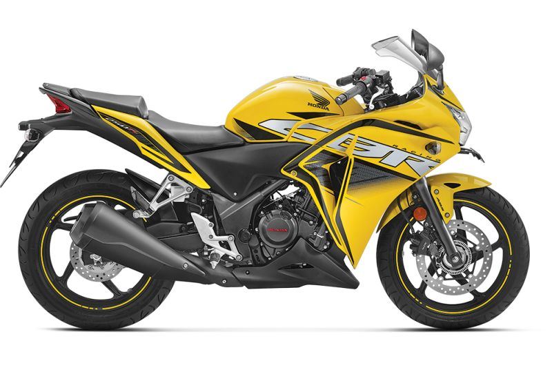 Honda motorcycle discontinued removed website CBR250R