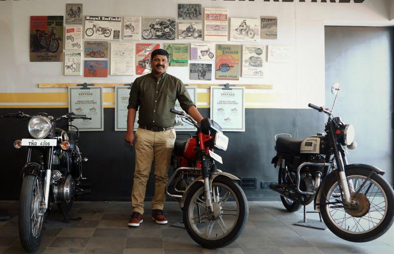 Royal Enfield Vintage Store Chennai-M1