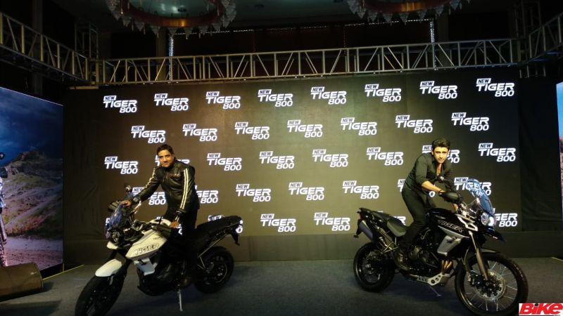 new, bike, india, triumph, tiger, 800, xr, xcx, xrx, adventure, tourer, motorcycle, launch, price, details, news, latest